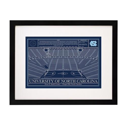 Large College Basketball Arena Blueprint [Auburn University]