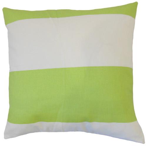 Yank Stripes Throw Pillow Cover
