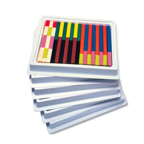 Learning Resources LER7502 CUISENAIRE RODS MULTI-PACK PLASTIC
