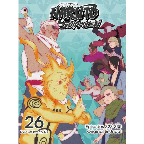 Naruto: Shippuden - Box Set 26 [2 Discs] [DVD]