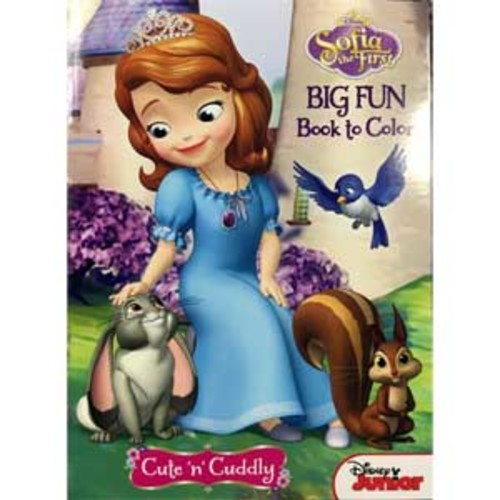 Sofia The First - 96 Page Coloring Book