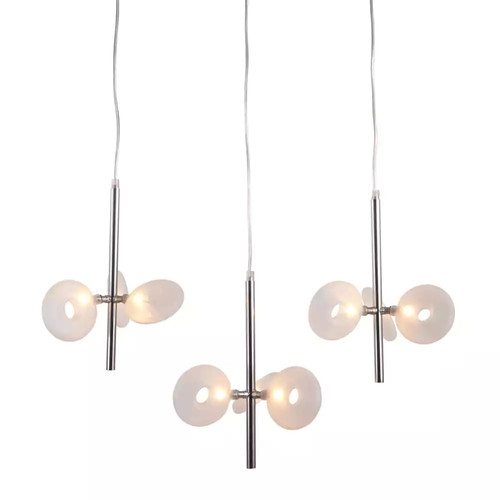 ZUO Twinkler 9-Light Chrome Ceiling Pendant