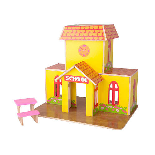 Build a Village School House Wood Craft Kit