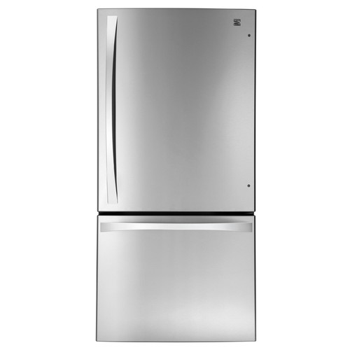 Kenmore Elite 79043 24.1 cu. ft. Bottom-Freezer RefrigeratorStainless Steel