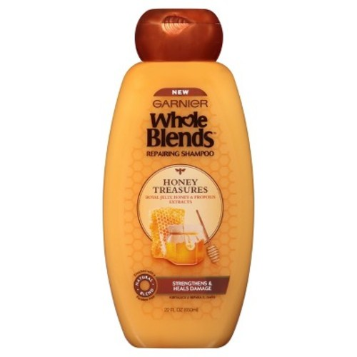 Garnier Whole Blends Honey Treasures Repairing Shampoo - 22oz