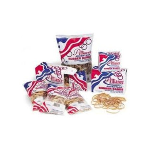 Alliance Rubber 24105 Sterling Rubber Bands Size #10, 1 lb Box Contains Approx. 5000 Bands (1 1/4