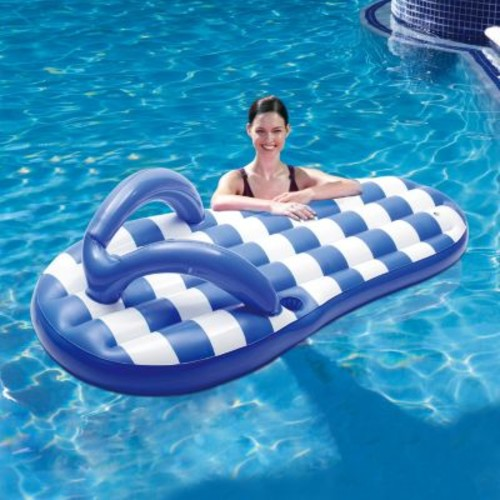 Marine Flip Flop Pool Lounger by Blue Wave