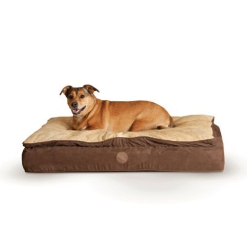 K&H Feather-Top Orthopedic Pet Bed - 30'' x 40''