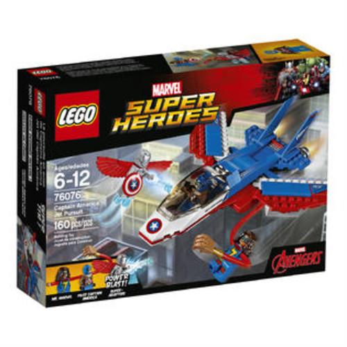 LEGO Super Heroes Marvel Avengers Assemble Captain America Jet Pursuit (76076)