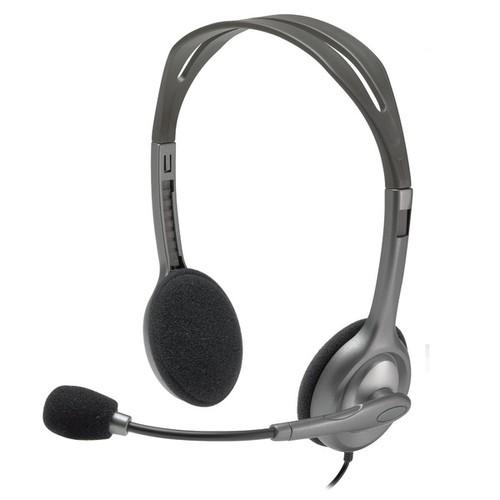 Logitech H111 Stereo Headset Bulk Package (Pack of 2)