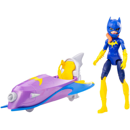 DC Comics Super Hero Girls Action Figure - Batgirl with Jet