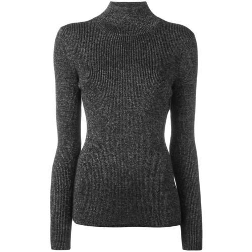 DIANE VON FURSTENBERG Roll-Neck Knitted Top