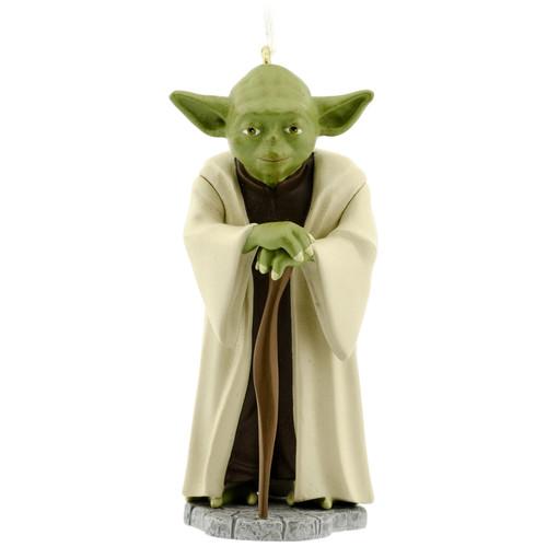 Star Wars Yoda Christmas Ornament