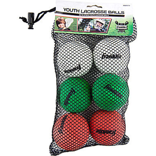 Franklin Sports 6 Pack Youth Lacrosse Balls