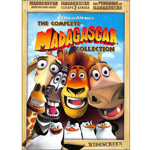 Madagascar: The Complete Collection (3 Disc) (DVD)