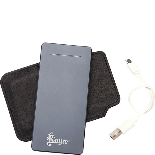 Luxury Travel Dual-Port External Battery Portable Charger (6500 mAh)