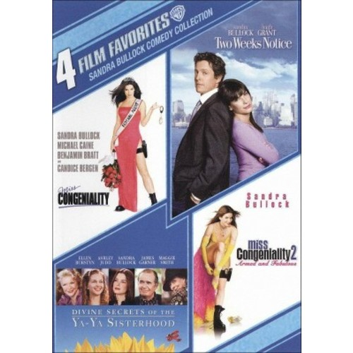Sandra Bullock Comedy Collection: 4 Film Favorites [2 Discs] [DVD]