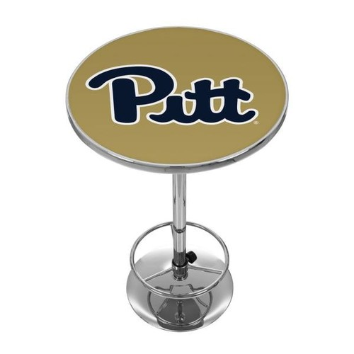 Trademark University of Pittsburgh Chrome Pub/Bar Table
