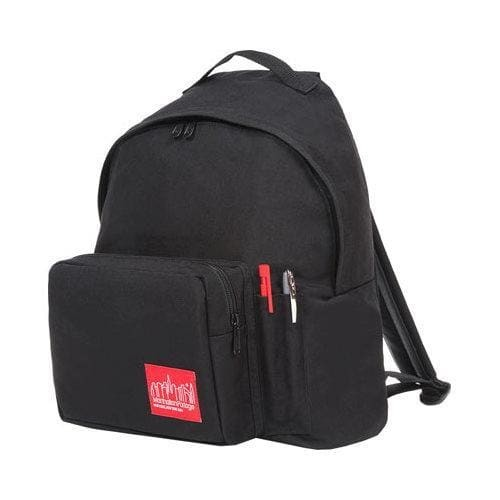 Manhattan Portage Big Apple Backpack With Pen Holder (Medium) Black - One Size