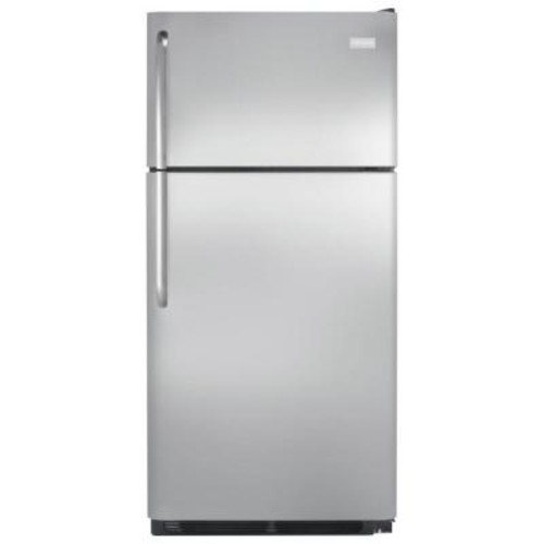 Frigidaire 18 cu. ft. Top Freezer Refrigerator in Stainless Steel