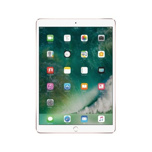 Apple - 10.5-Inch iPad Pro (Latest Model) with Wi-Fi + Cellular - 64GB (AT&T) - Rose G