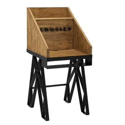 Brooklyn Turntable Stand - Natural - Crosley
