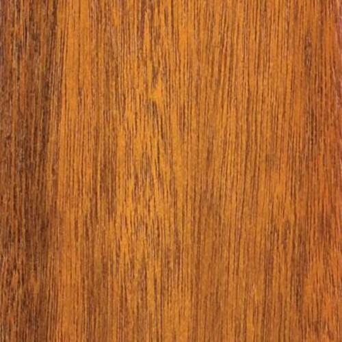 Clopay 4 in. x 3 in. Wood Garage Door Sample in Meranti with Cedar 077 Stain