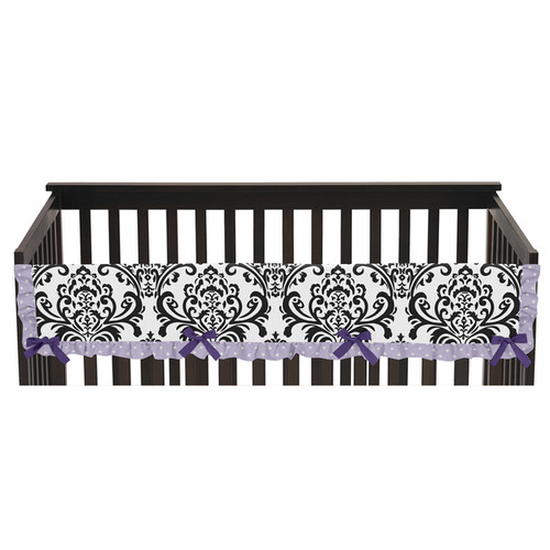 Sweet Jojo Designs Sloane Collection Long Crib Rail Guard Cover