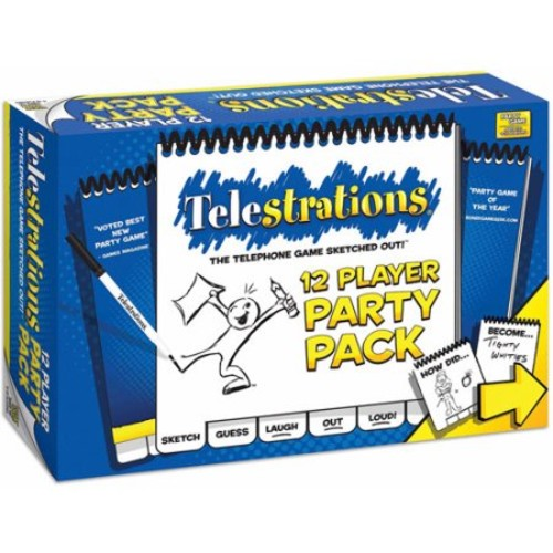 Telestrations 12 Player - Party Pack