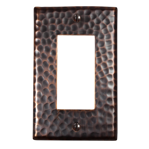 Copper Factory Solid Copper Single GFI Plate - (Set of 2)