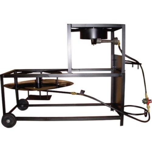 King Kooker Portable Propane 30 Fryer/Boiling Cart Package