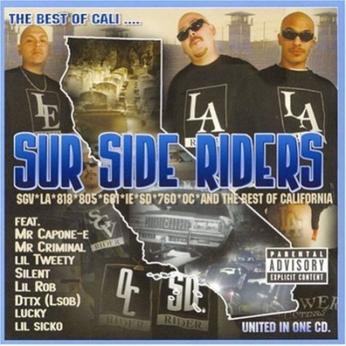 The Best Of Cali... Sur Side Riders [CD] [PA]