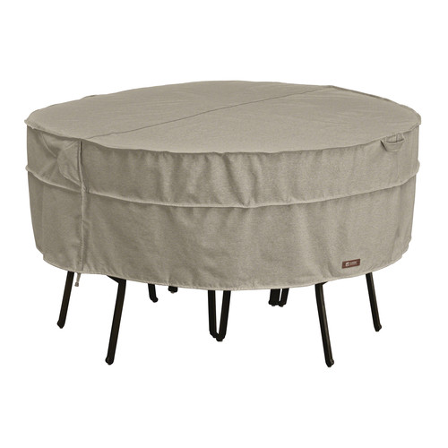 Classic Accessories Montlake Large Round Patio Table & Chair Set Cover