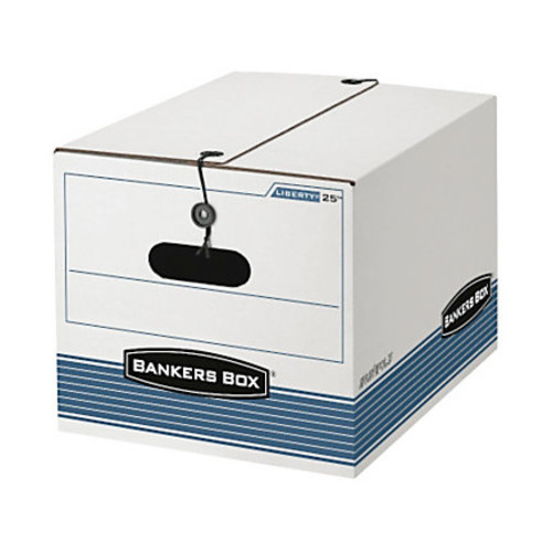 Bankers Box Stor/File Boxes With String & Button, Letter/Legal, 11