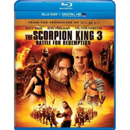 The Scorpion King 3: Battle for Redemption [Includes Digital Copy] [UltraViolet] [Blu-ray]