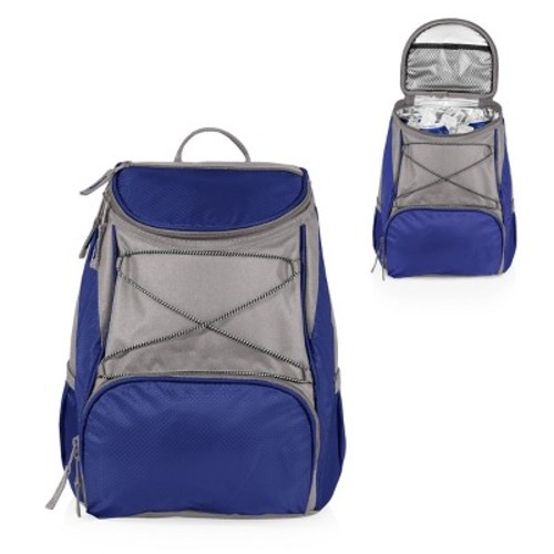 Picnic Time PTX Backpack Cooler - Navy / Grey