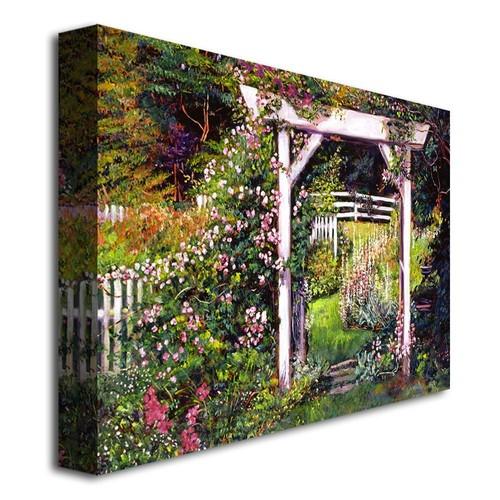 Botanical Paradise by David Lloyd Glover, 18x24-Inch Canvas Wall Art [18 by 24-Inch]