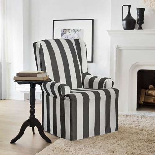 Hampton Wing Chair Slipcover