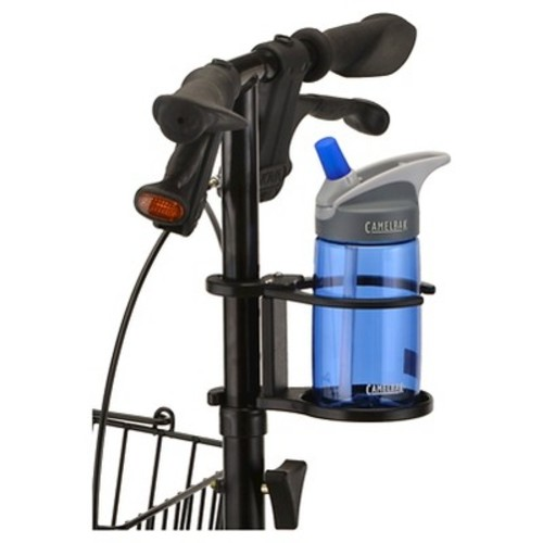 Nova Cup Holder for Knee Walker - Black