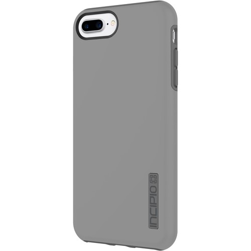 Incipio - DualPro Case for Apple iPhone 7 Plus - Gray/Charcoal