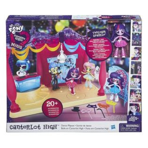 Hasbro My Little Pony Equestria Girls Minis Canterlot High Dance Playset
