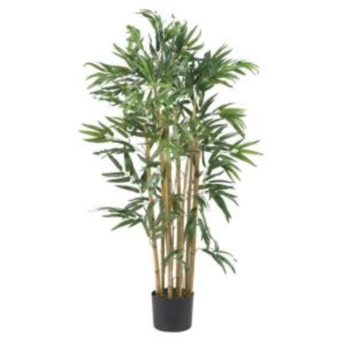 Nearly Natural 3 ft. Mutli Bambusa Bamboo Silk Tree