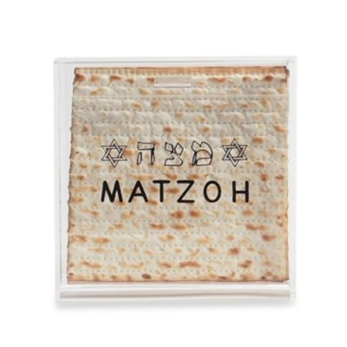 Acrylic Stand Up Matzah Box