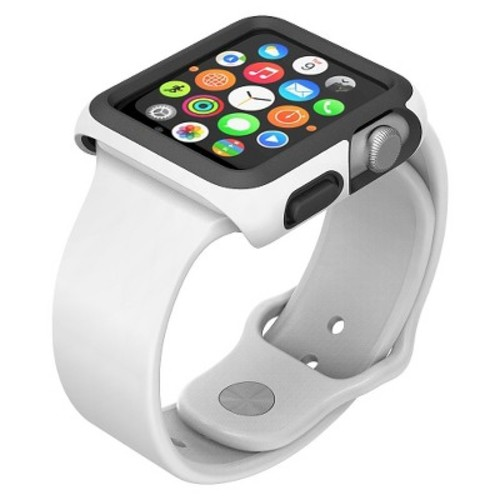 Apple Watch 42mm CandyShell Fit - White/Black (SPK-A4166)