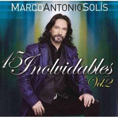 Marco antonio solis - 15 exitos inolvidables vol 2 (CD)