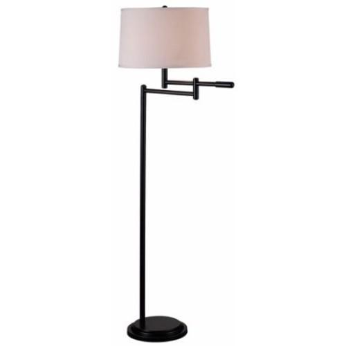 Kenroy Home Theta Swing Arm Floor Lamp, Copper Bronze