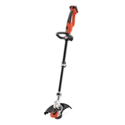 BLACK+DECKER 12 in. 20-Volt MAX Lithium-Ion Cordless 2-in-1 String Grass Trimmer/Lawn Edger with 4.0Ah Battery and Charger Included