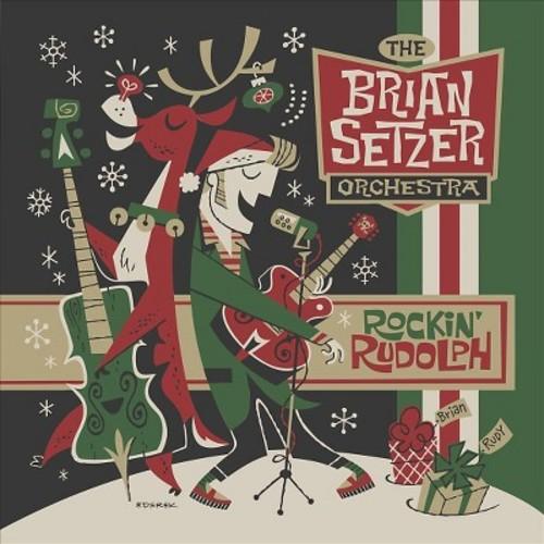The Brian Setzer Orchestra - Rockin' Rudolph (CD)