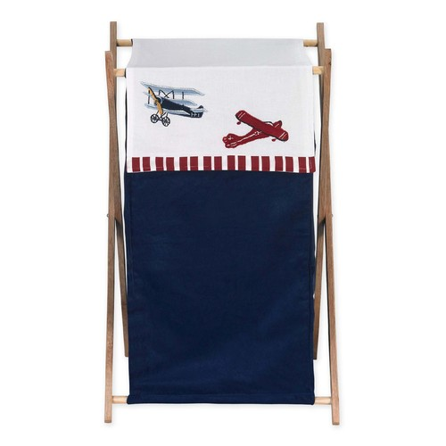 Sweet Jojo Designs Vintage Aviator Collection Laundry Hamper