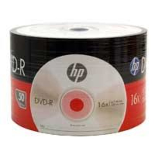 HP DM00070B DVD-R 16x 4.7GB Discs 50 Pack Wrap Only (No Spindle)